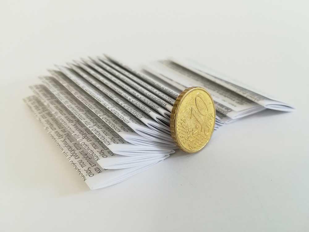 Druckerei Prettenhofer | Kleinstfalzungen