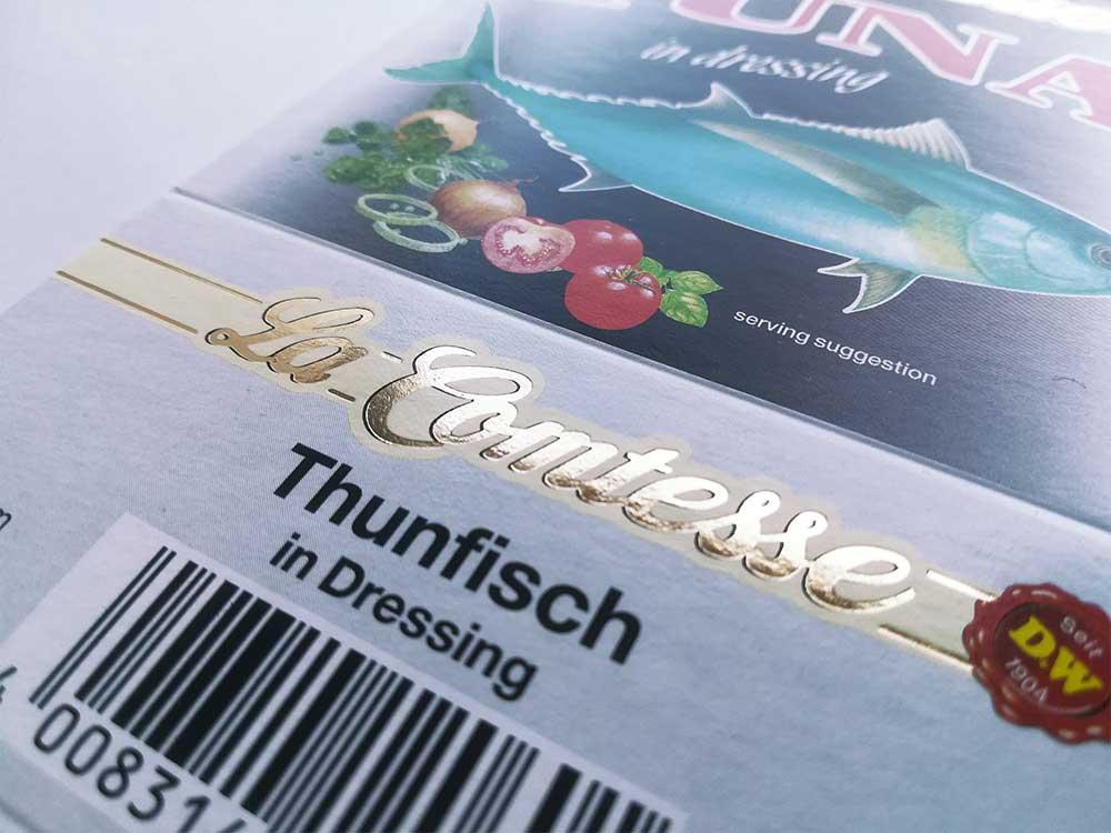 Druckerei Prettenhofer | Heißsiegelprägung